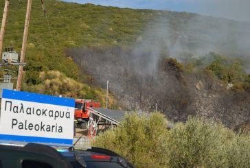 Σοβαρές ζημιές από πυρκαγιά στην Παλαιοκαρυά Αγρινίου