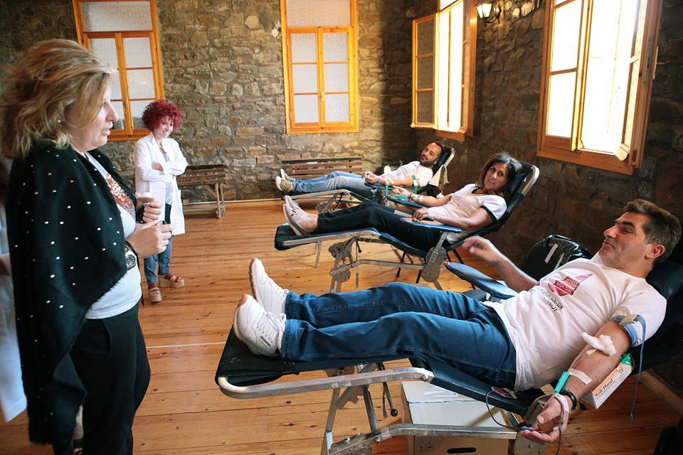 """Xάρισαν αίμα, πρόσφεραν ζωή"" στο Ελαιόφυτο"