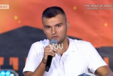 Από το Αγρίνιο πήγε στο «Ελλάδα έχεις ταλέντο» και τα 'χωσε στους κριτές
