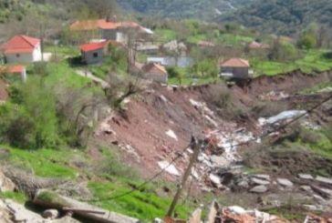 Υπό το φόβο μιας νέας κατολίσθησης  οι κάτοικοι στην Κλεπά (βίντεο)