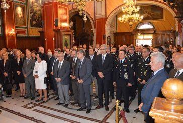 Εορτασμός του προστάτη της Ελληνικής Αστυνομίας Αγίου Αρτεμίου και της Ημέρας της Αστυνομίας