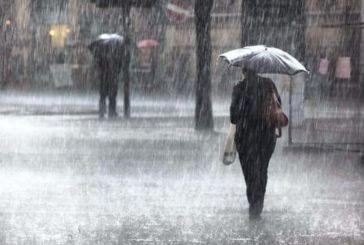 Έκτακτο δελτίο επιδείνωσης του καιρού στη Δυτική Ελλάδα το Σαββατοκύριακο