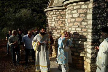 Εγκαίνια Ιερού Ναού Ευαγγελιστού Ιωάννου του Θεολόγου στον Αβαρίκο Τριχωνίδος