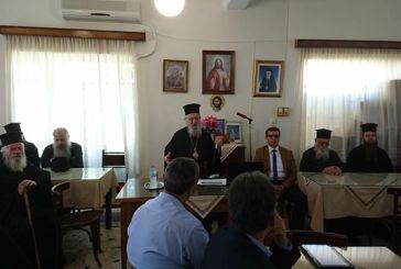 Το μάθημα των Θρησκευτικών επί τάπητος στη συνάντηση Θεολόγων  παρουσία του Μητροπολίτη στο Αγρίνιο