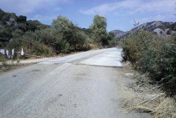 Δρόμος Χρυσοβίτσα – Πηγάδια – Αστακός (Βαλόστρατο): Παράτησαν στη μέση τη βελτίωση του δρόμου