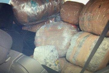 Μέλη εγκληματικής ομάδας οι συλληφθέντες στο χθεσινό μπλόκο 163 κιλών χασίς στην Ιόνια Οδό