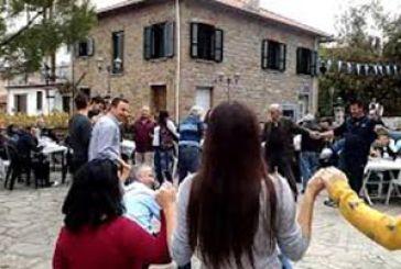 Γιορτή Ευρυτάνων Αγίων και τσίπουρου την 28η Οκτωβρίου στη Γρανίτσα
