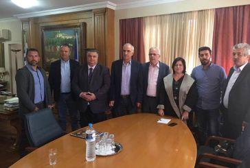 Συνάντηση στο Υπουργείο Αγροτικής Ανάπτυξης για τα θέματα του δήμου Μεσολογγίου