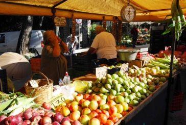 Μεταφέρεται λόγω 28ης Οκτωβρίου η Λαϊκή Αγορά του Σαββάτου στη Ναύπακτο