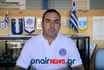 Παραιτήθηκε ο Ντίνος Πασιόπουλος από πρόεδρος του Ναυτικού Ομίλου Μεσολογγίου