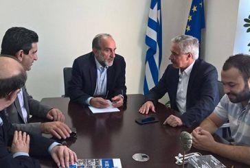 Συνάντηση Α. Κατσιφάρα με τον Γ. Μανιάτη για τις εξελίξεις στην κεντροαριστερά