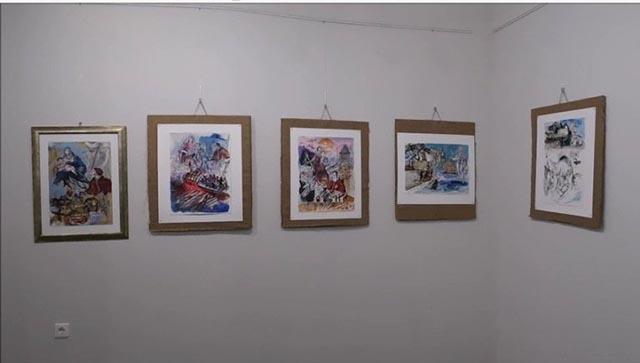 «Ο Θερβαντες στη Ναυμαχία της Ναυπάκτου»: Η έκθεση του Franco Murer στο λιμάνι (video)