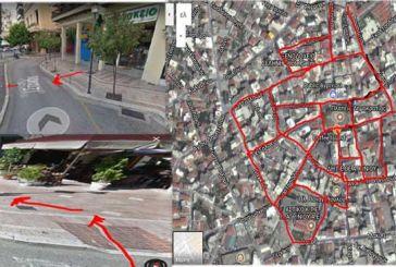 Ο χάρτης με ράμπες και τα «φιλικά» για καρότσια πεζοδρόμια στο Αγρίνιο