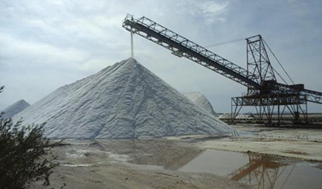 Μεσολόγγι: βρήκε την ευκαιρία να κλέψει 1,6 τόνους αλάτι από τις αλυκές