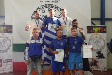 Διακρίσεις για αθλητές του Ηρακλή Αγρινίου στο Πανευρωπαϊκό Πρωτάθλημα Παγκρατίου