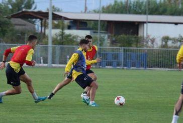 Δύναμη και τακτική στην προπόνηση για τους ποδοσφαιριστές του Παναιτωλικού
