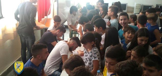 Επισκέψεις Παναιτωλικού σε σχολεία για την Ημέρα Σχολικού Αθλητισμού