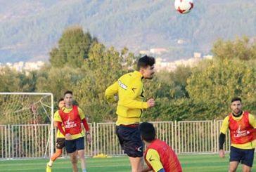 Παιχνίδια με μπάλα και ασκήσεις τακτικής στην προπόνηση του Παναιτωλικού