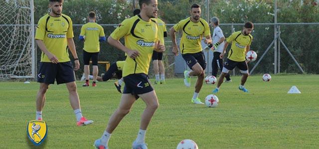 Ενδυνάμωση και αερόβιο πρόγραμμα για τους ποδοσφαιριστές του Παναιτωλικού