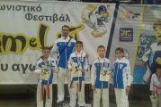 Στο βάθρο των μεταλλίων οι νεαροί αθλητές του Τίτορμου στο ΤΑΕΚΒΟΝΤΟ