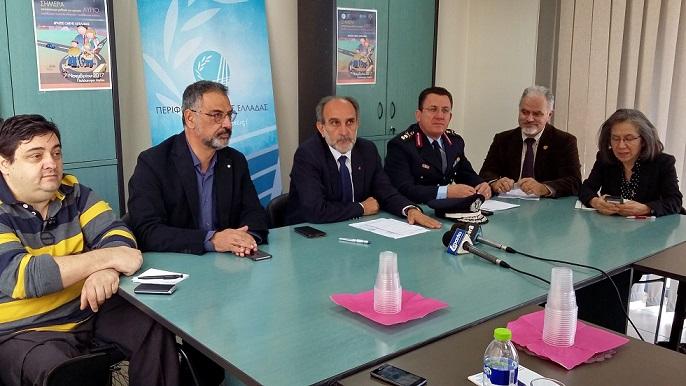 2017.11.06 @ Συνέντευξη Τύπου για τις δράσεις της Περιφέρειας Δυτικής Ελλάδας στο πλαίσιο της εβδομάδας Οδικής Ασφάλειας σε συνεργασία με την Ελληνική Αστυνομία, Περιφερειακή Διεύθυννση Πρωτοβάθμιας και Δευτεροβάθμιας Εκπαίδευσης, το ΤΕΙ Δυτικής Ελλάδας και το ΙΟΑΣ Πάνος Μυλωνάς