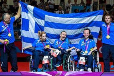 Νέα Οδός – Κεντρική Οδός: «Επίσημοι Υποστηρικτές της Ελληνικής Παραολυμπιακής Ομάδας»