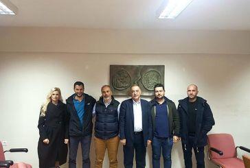 """Συνάντηση υποψηφίων της """"Ενωτικής Επιμελητηριακής Δράσης"""" στην Αμφιλοχία"""