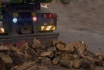 Κατάσχεση φορτηγού και μεγάλης ποσότητας ξυλείας στην Αμφιλοχία – Αναζητείται ο οδηγός