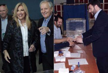 Αποτελέσματα στο 94%: Γεννηματά 41,20%, Ανδρουλάκης 24,85%