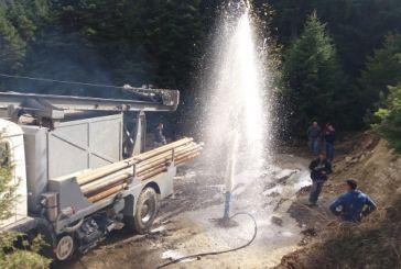 Καρπενήσι: Μεγάλη ποσότητα νερού από την γεώτρηση στο Κρίκελλο