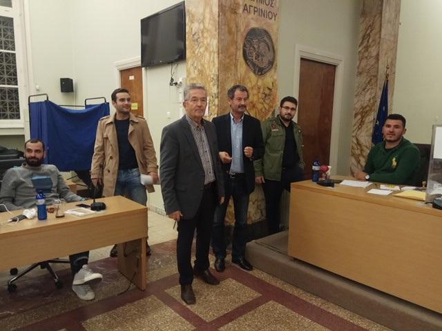 Αγρίνιο, αίθουσα δημοτικού συμβουλίου
