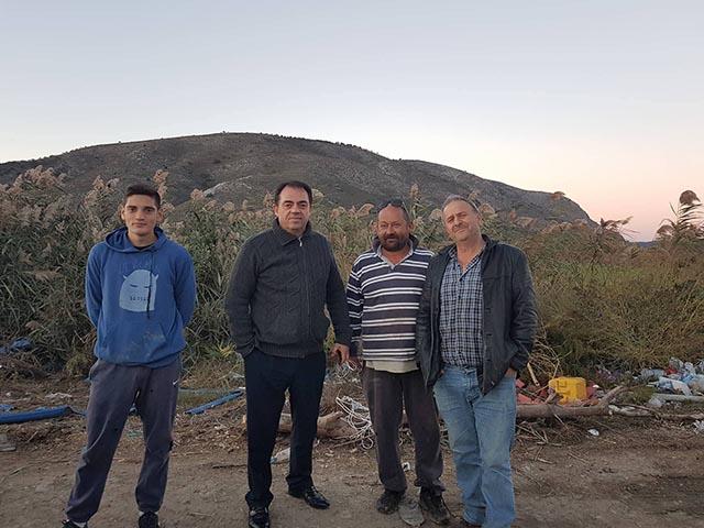 O Κωνσταντόπουλος στους πληγέντες των Οινιάδων