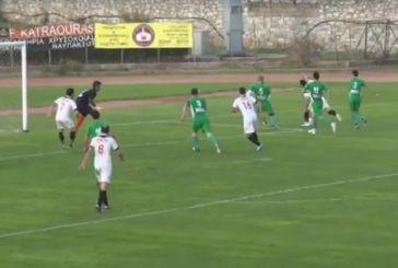 Χωρίς γκολ το φιλικό του Ναυπακτιακού με τον Αστέρα Ιτέας (video)