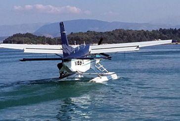 Ξεκίνησαν οι πρώτες δοκιμαστικές πτήσεις των υδροπλάνων στην Κέρκυρα