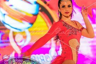 8η στον κόσμο η Ναυπάκτια χορεύτρια Χριστιάνα Τσούση
