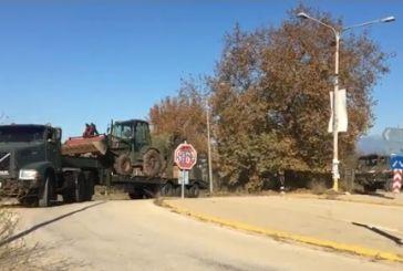 Δείτε την άφιξη κλιμακίου του Στρατού στο Ζευγαράκι