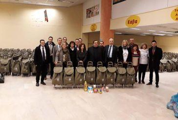 Δωρεά τροφίμων από την Alpha Bank για τους πλημμυροπαθείς του Δήμου Αγρινίου