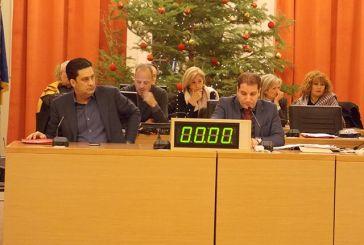 Συζήτηση για τις πληγείσες από τις πλημμύρες περιοχές στη συνεδρίαση του δημοτικού συμβουλίου Αγρινίου