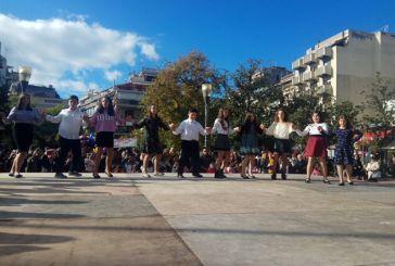 Αγρίνιο: Παράσταση χορευτικών τμημάτων στην Πλατεία Δημοκρατίας
