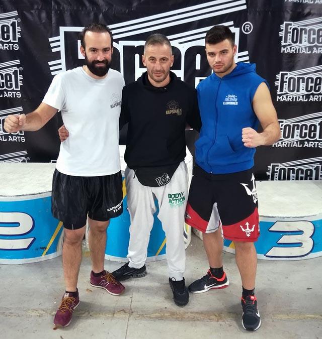 """Δύο χάλκινα μετάλλια στο Πανελλήνιο Πρωτάθλημα Kick Boxing για τον """"Ηρακλή Αγρινίου"""""""
