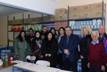 Διανομή τροφίμων και ειδών πρώτης ανάγκης από το Κοινωνικό Παντοπωλείο του Δήμου Μεσολογγίου