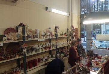 Σε εξέλιξη το χριστουγεννιάτικο bazaar του Εργαστηρίου «Παναγία Ελεούσα» στο Αγρίνιο