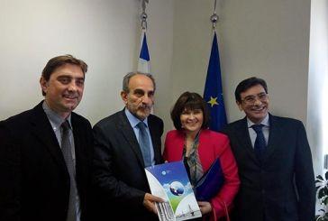 Συνάντηση Α. Κατσιφάρα με την Πρέσβη της Σλοβακίας
