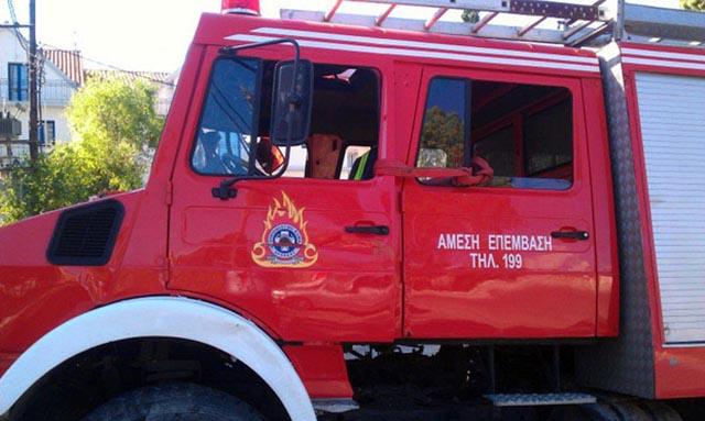 Κινδύνεψε από φωτιά το ΕΠΑΛ Ναυπάκτου