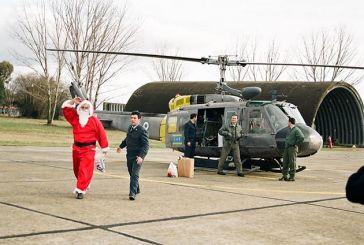 Αγρίνιο: Όταν ο Αη Βασίλης ερχόταν με… ελικόπτερο!