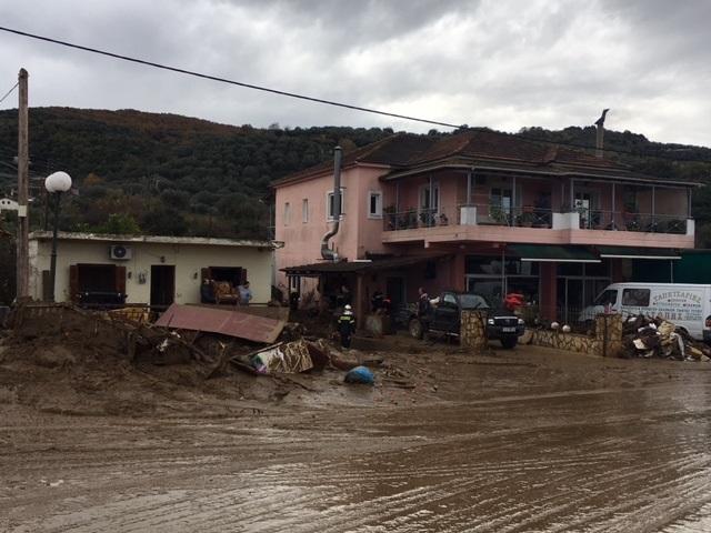Παράταση τριών μηνών στην κατάσταση έκτακτης ανάγκης του Δήμου Αγρινίου για τις πλημμύρες του 2017