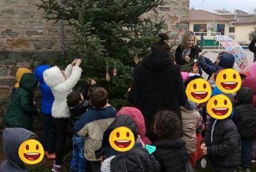 Στόλισαν δέντρο γονείς και μαθητές στο Δημοτικό Σχολείο Δοκιμίου