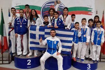 """Το Αγρίνιο με τον Α.Σ. Τίτορμο στο «8o Hereya Tae Kwon Do Open"""" στην Βουλγαρία"""
