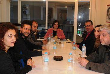 Συναντήσεις της Μ. Τριανταφύλλου με εκπροσώπους εργαζομένων του Νοσοκομείου Αγρινίου και του Φορέα Διαχείρισης της Λιμνοθάλασσας