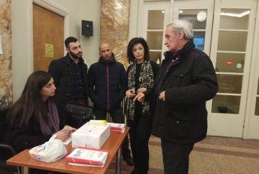 Νίκος Χουντής στο Αγρίνιο: η Λαϊκή  Ενότητα επιμένει σε εναλλακτική λύση
